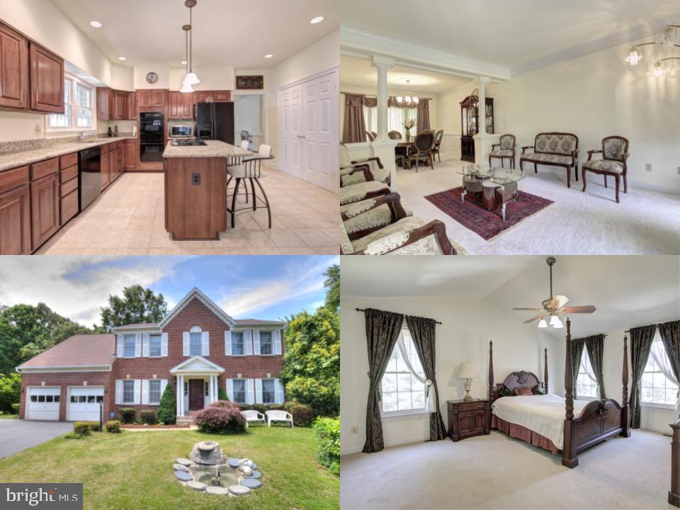 ***MOTIVATED SELLER*** MUST SEE IN PERSON! Want to live in a large updated home close to everything? Meticulous owners cared for this 4 bedroom and 3.5 bathroom colonial with an oversized driveway and beautiful front yard fountain!  Open layout of the kitchen and living room allows you to entertain guests while you prepare them a delicious meal!  Kitchen features an island with a 6 gas burner cooktop and room for two to eat, granite countertops, a new double oven, and a large pantry.  Stay in and snuggle up by the gas fireplace in the living room and put on your favorite movie.  Start your day with a cup of coffee in your breakfast room that leads out to your back deck. More than enough room to house your guests with 4 spacious and contemporary bedrooms on upper level. Lower level features brand new carpets, an additional room with closets and a full bathroom that is perfect for an in-law. New roof in 2018 with 25-year shingles. Direct access to I-95, Fairfax County Parkway, and Springfield/Franconia metro station. Bring your best offer!!
