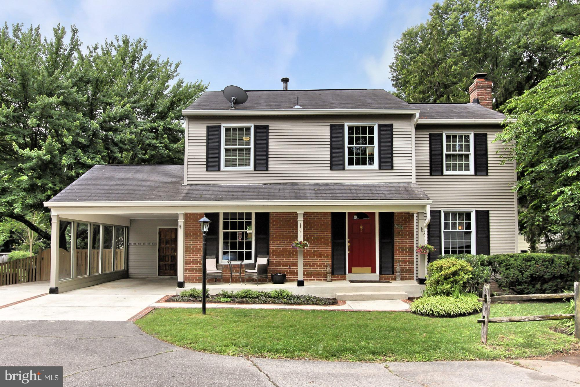 Charming and convenient!  You'll love this home. So much to see. Three finished levels, gorgeous gourmet kitchen and baths, hardwood floors and a fireplace.  Tons of room for relaxation.  A a sunroom, deck, patio and fenced, landscaped yard.  Minutes from Hunting Metro and a short drive to Old Town Alexandria
