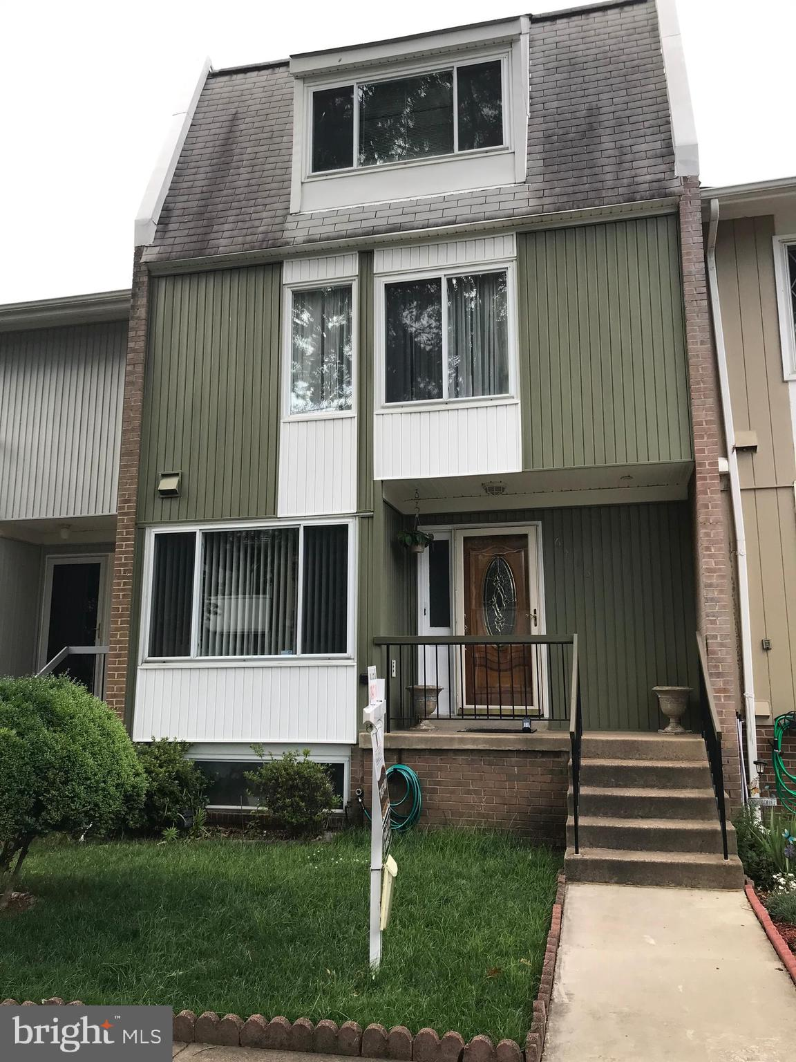 Very rare 4 story Townhouse 4 bed 3.5 bath in top condition.Near Metro and shopping center, close to public transportation.Walk out basement/outside entrance.Harwood floor in kitchen and granite counter, family floor tile. Rear brick patio, deck from living room, proud of ownership.Owner to find HOC,please show and sell.FRIENDLY SMALL DOG.Chandeliers in living room and main bedroom does not convey. Refrigerator in basement does not convey.