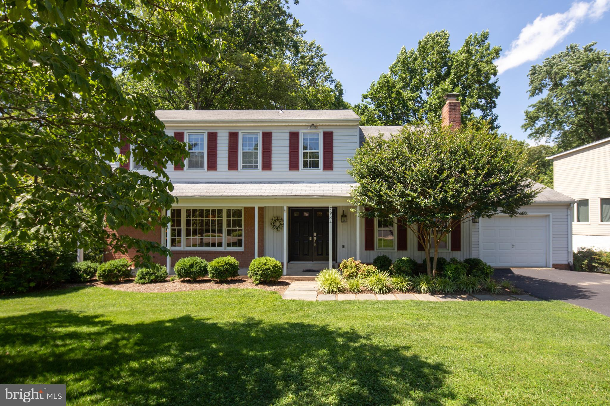 Saratoga is the place to be! A beautiful community, offering playgrounds, basketball courts, tot lots and pool membership!  A commuters dream with easy access to Fairfax County Parkway and all major highways, close to Springfield Metro and Metro Bus Stop to Pentagon, shortens your commute! Everything you could want at Springfield mall 5 minutes away, including state-of-the-art movie theaters, and shopping and dining galore. Wegmans only 10 mins away!  This premium lot, is easily one of the largest in the subdivision and backs to the Cross County Trail! Perfect for weekends hiking, jogging or mountain biking in the outdoors -An adventure of stepping stones, wooden bridges and sparkling streams right at your doorstep! Enjoy gorgeous views, lush greenery and the privacy that only this lot can offer, while you kick back on the deck with your favorite drink! All the room and space you need on three levels, without worries of storage thanks to the glorious garage and massive unfinished storage area in the basement! Drop your bags and stress off in the foyer before wandering to your favorite room, which might be the gourmet kitchen at the heart of the home, with stainless appliances, granite counter tops, custom barn doors concealing a generous pantry and the convenience of an eat-in table space. All perfectly situated leading into the dining room, great for entertaining, or into the family room for lounging or snuggling up by the fireplace for movie night. Retreat to the upstairs bedrooms, all stylish with new plush carpeted floors - four in total plus an updated hall bathroom. The master suite is especially impressive with a bonus dressing area and vanity! Endless possibilities for the vast basement, which is walkout level, allowing abundant natural light and includes a true 5th bedroom and half bath - All the comfort and convenience your guests could need! WELCOME HOME!