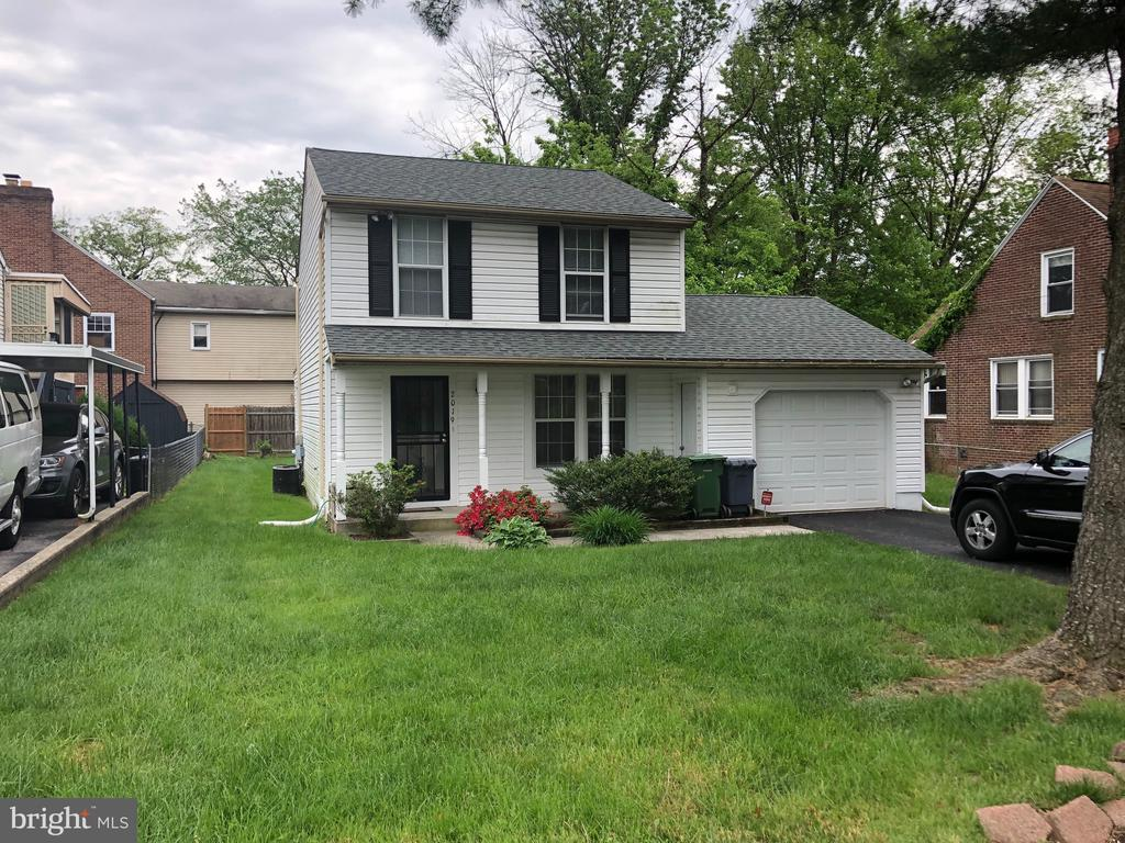 3 Br SFH. Central Air, w/1 car attached garage and parking pad for additional cars, porch front, powder room on 1st floor, crown molding in LR, Sunroom, finished lower level, fenced rear yard, all appliance stay. Move right in and make it your own.