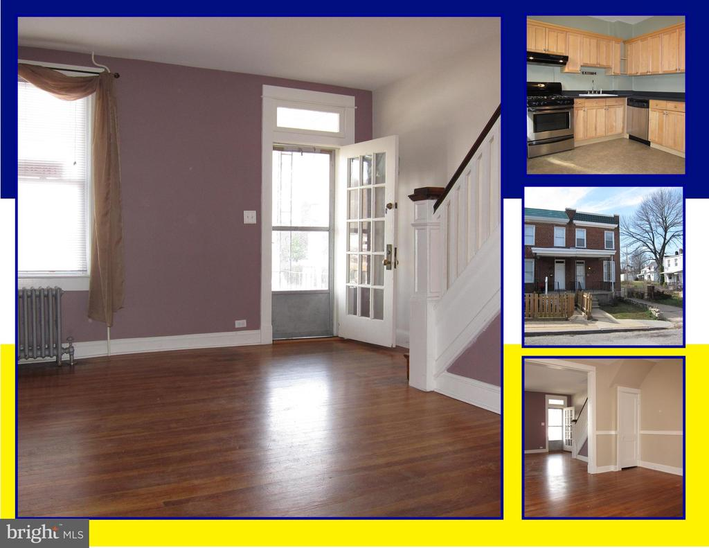 **AVAILABLE AUGUST 1, 2019** 3 BEDROOM 1 BATH END-OF-GROUP RENTAL TOWNHOUSE IN MEDFIELD/HAMPDEN. SUNNY RENOVATION WITH HISTORIC DETAILS. ORIGINAL STAIRCASE, WOOD FLOORS, DINING ROOM, KITCHEN WITH STAINLESS-STEEL APPLIANCES, BATH WITH ORIGINAL TILE, LARGE BASEMENT WITH GOOD STORAGE & MORE. CONVENIENT TO HISTORIC HAMPDEN, CROSS KEYS, I-83 & DOWNTOWN. IMAGINE YOUR NEW HOME.