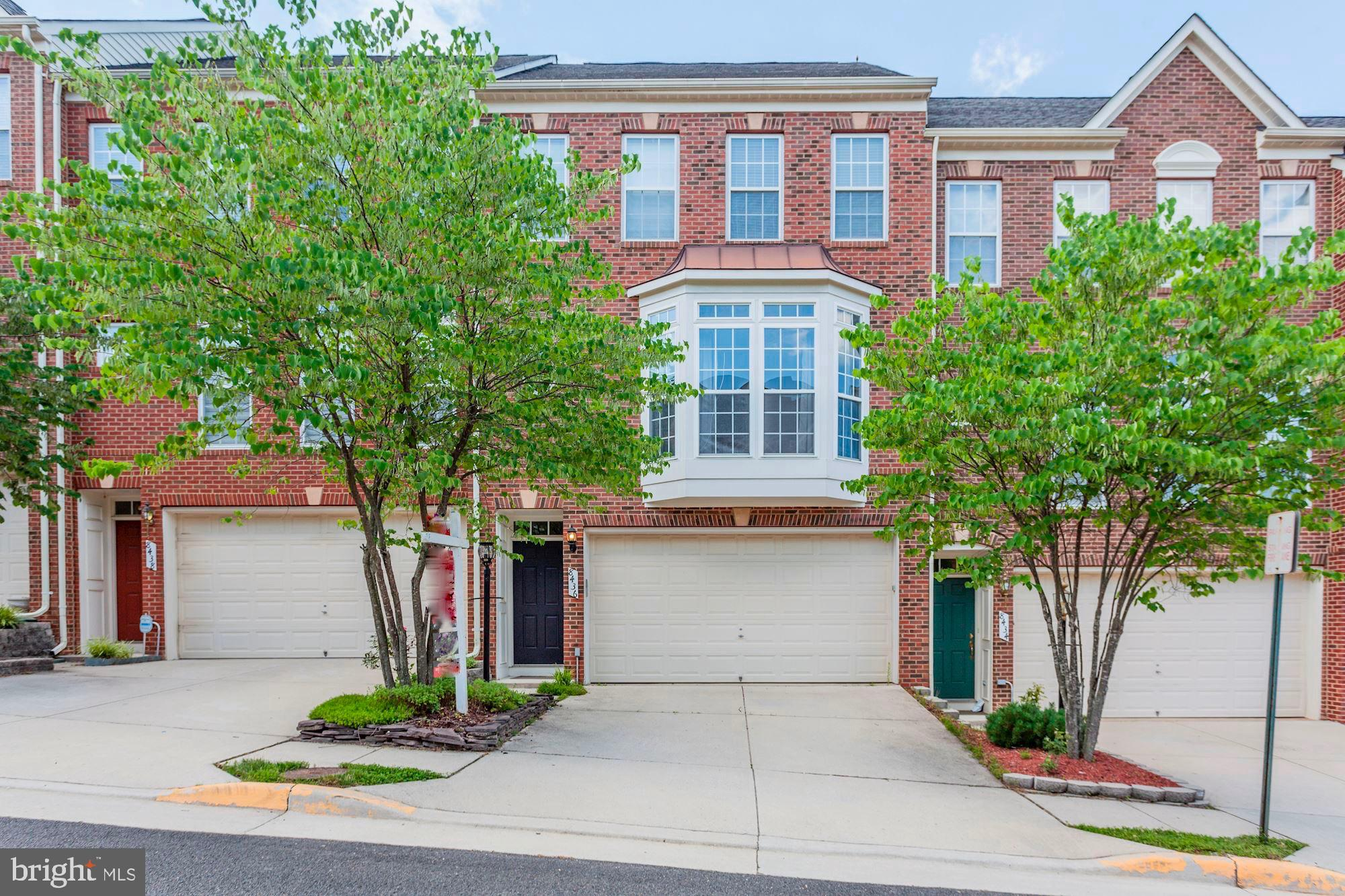 DELIGHTFUL & LIGHT-FILLED all brick town home w/2-car garage. 3BR/3.5BA, HUGE eat-in kitchen w/center island & a wall of windows, airy vaulted-ceiling master suite w/ double vanity, soaking tub & sep. shower. Large rooms, high ceilings & oversized windows give the entire home an open, expansive feel. Community tot lot, pool & easy access to I-95, shopping & dining. Only 2 miles to Lorton Station VRE. ***INVESTORS ONLY - tenant occupied until 6/2020 - great opportunity to have instant equity and income.***