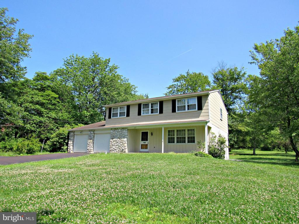 Great two story in nice country location waiting for your decorating talents making this a place you can call home. Nice two car garage with large rear storage area. Spacious bedrooms with ample closet space throughout. Cozy family room with fireplace. Master bedroom w/bath and walk-in closet. Easy access to Rt. 309 and NE Ext. of the Pa Turnpike.