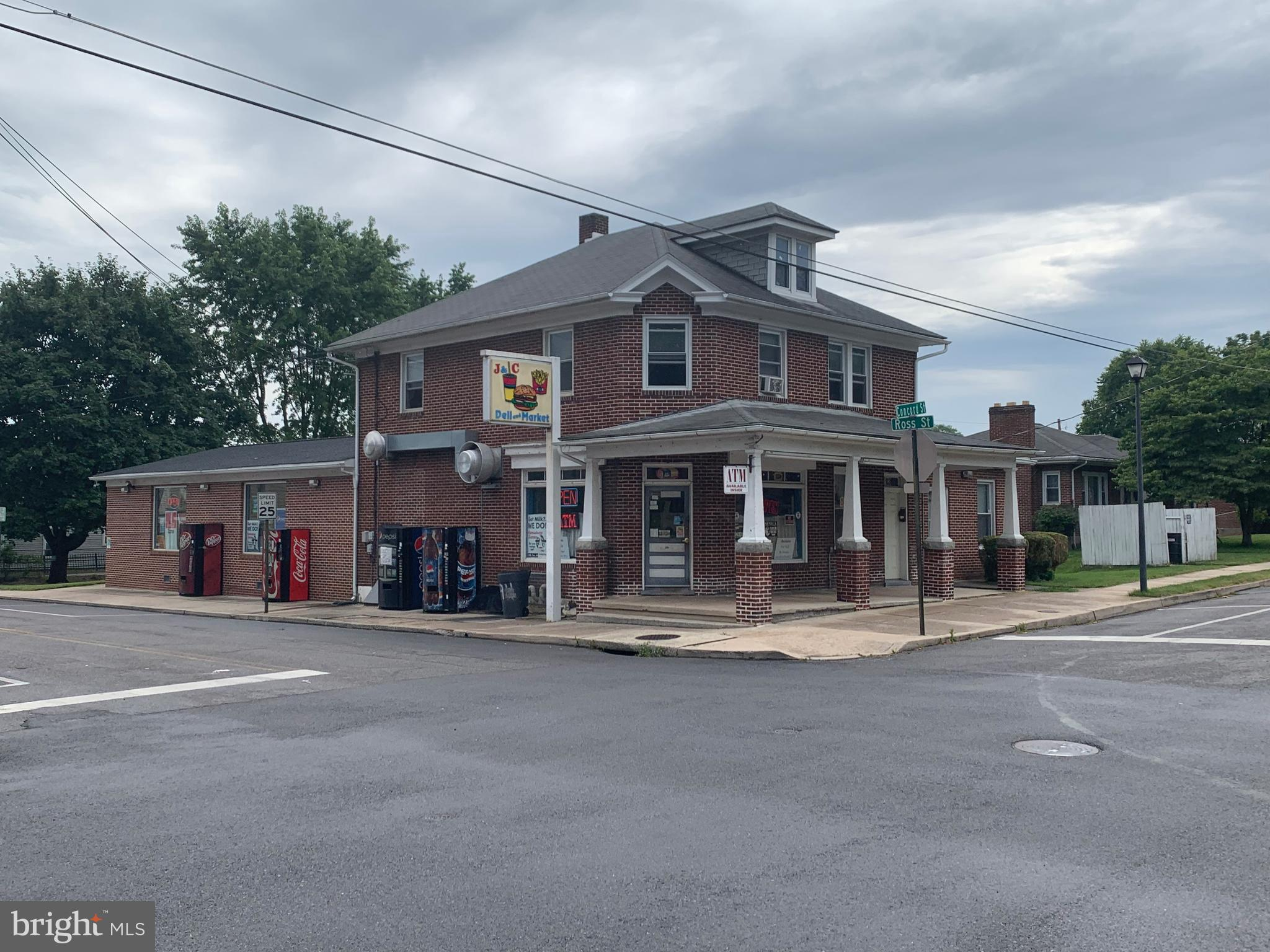 RG Realty is pleased to offer the opportunity to acquire the fee simple interest (Business & building ownership) 1,000 ft2 apartment on 2nd level. Sellers want to retire from this 20 years + family business convenience store, with many loyal customers.  Make money from day One! The store is fully operational already established with a great reputation, very clean and fully equipped, located on a Well-established suburban Neighborhood. The area is both residential and commercial with great visibility due to its corner location, ample parking for patrons available. This store has unlimited potential for the right owner operator. Confidentiality agreement (NDA) is require for preliminary financial information.