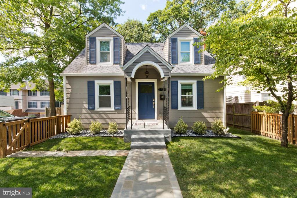 Pre-July 4th Open House Weekend, June 29th & 30th, 2-4PM on Saturday and 1-4PM on Sunday. Bonus on Sunday. a donut food truck will be on hand to give out sweet treats to view a very sweet home! Charming & beautifully renovated (2017), 5 bedroom Cape Cod in ideal location. This gem is walkable to the VA Square Metro, VA Square, Clarendon, restaurants, coffee shops, VA Sq. Giant, Rocklands BBQ, the YMCA and Washington-Lee High School. Features include 3 finished levels, gleaming oak and pine hardwood floors, gourmet kitchen with high end appliances, updated baths with quartz counters, inviting deck and patio, fenced in private front and back yard (6,516 SF lot), and a driveway that can fit 3 cars. The lower level includes a family room & laundry room, two bedrooms and plenty of storage space. Icing on the cake: The fifth bedroom on the upper level is an income generating apartment with a separate kitchen, large closet and living space. This space can easily be converted into a master bedroom suite. Other features include a sprinkler system, flagstone front walk, wood deck, back patio, new carpet in upstairs bedroom, and energy efficient split heating and cooling units on upper level. NOTE; Seller is participating in a relocation program.  Come check this jewel of a home out this weekend!