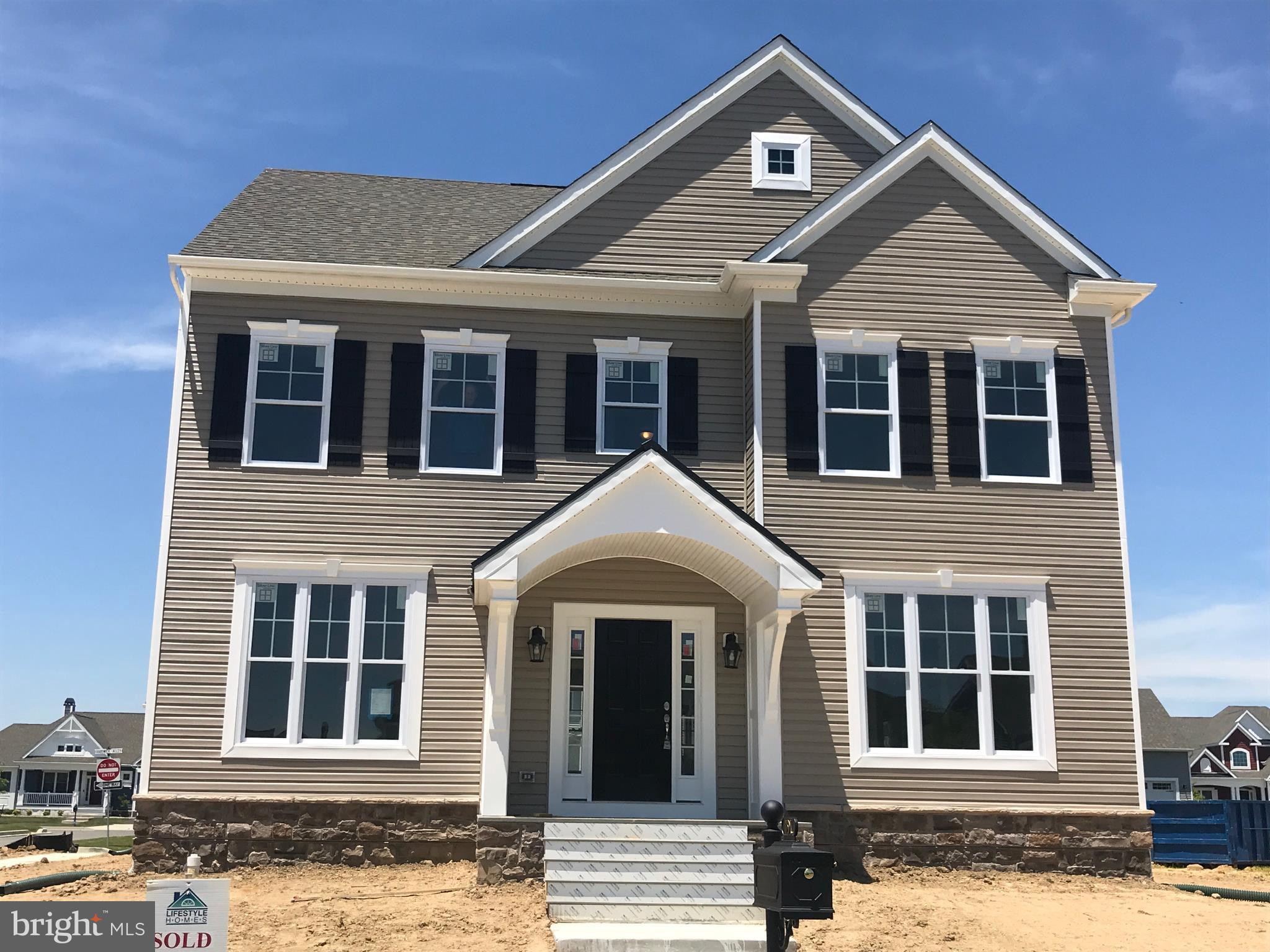 The Newtown Model.      Appraisers - Call listing agent for more information.For room dimensions and floorplans see www.Lifestylehomes.us.