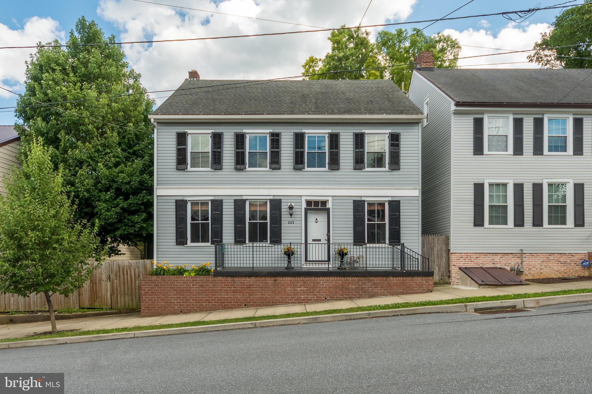 223 LOCUST STREET, WRIGHTSVILLE, PA 17368