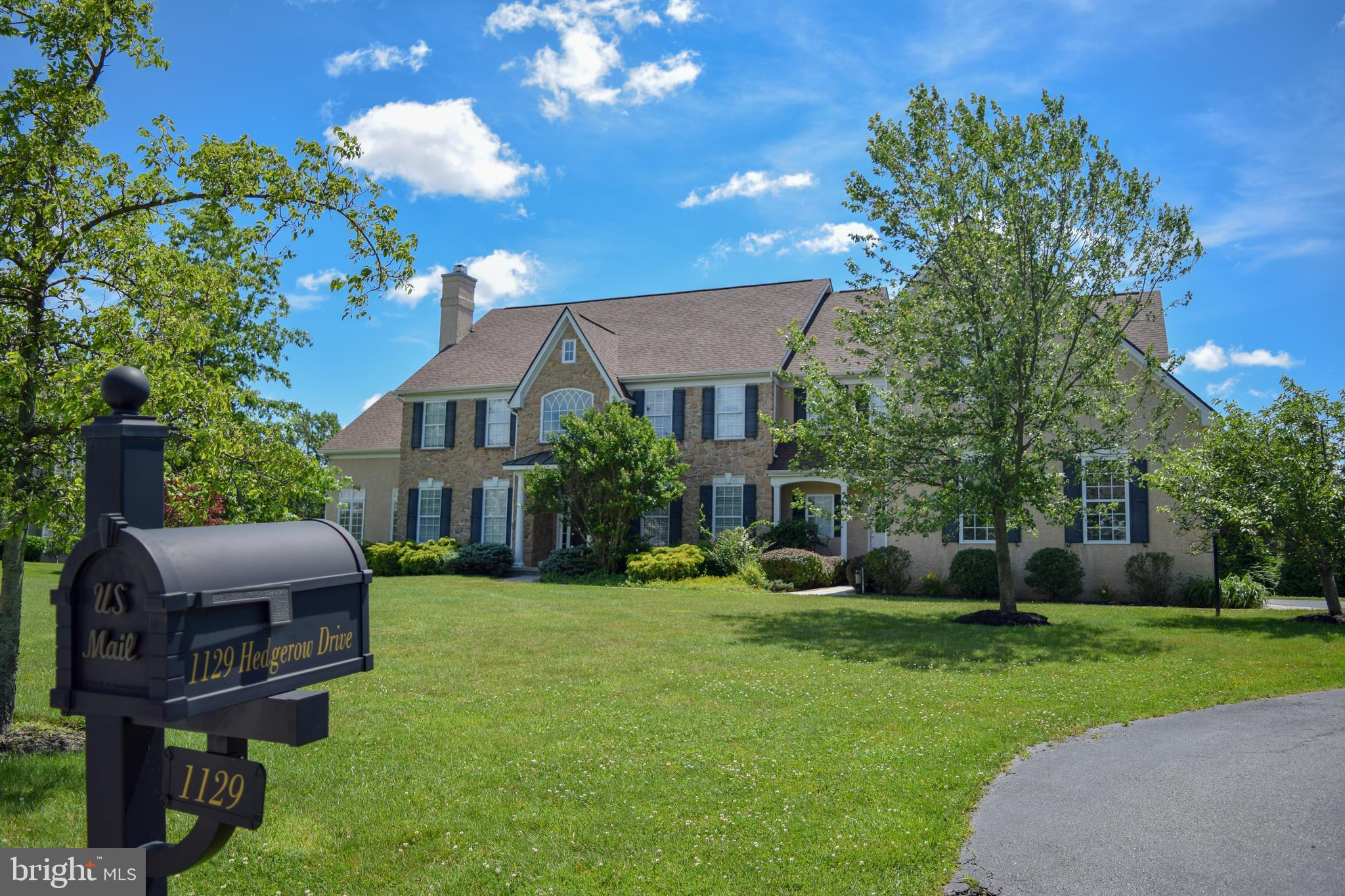 1129 HEDGEROW DRIVE, GARNET VALLEY, PA 19061