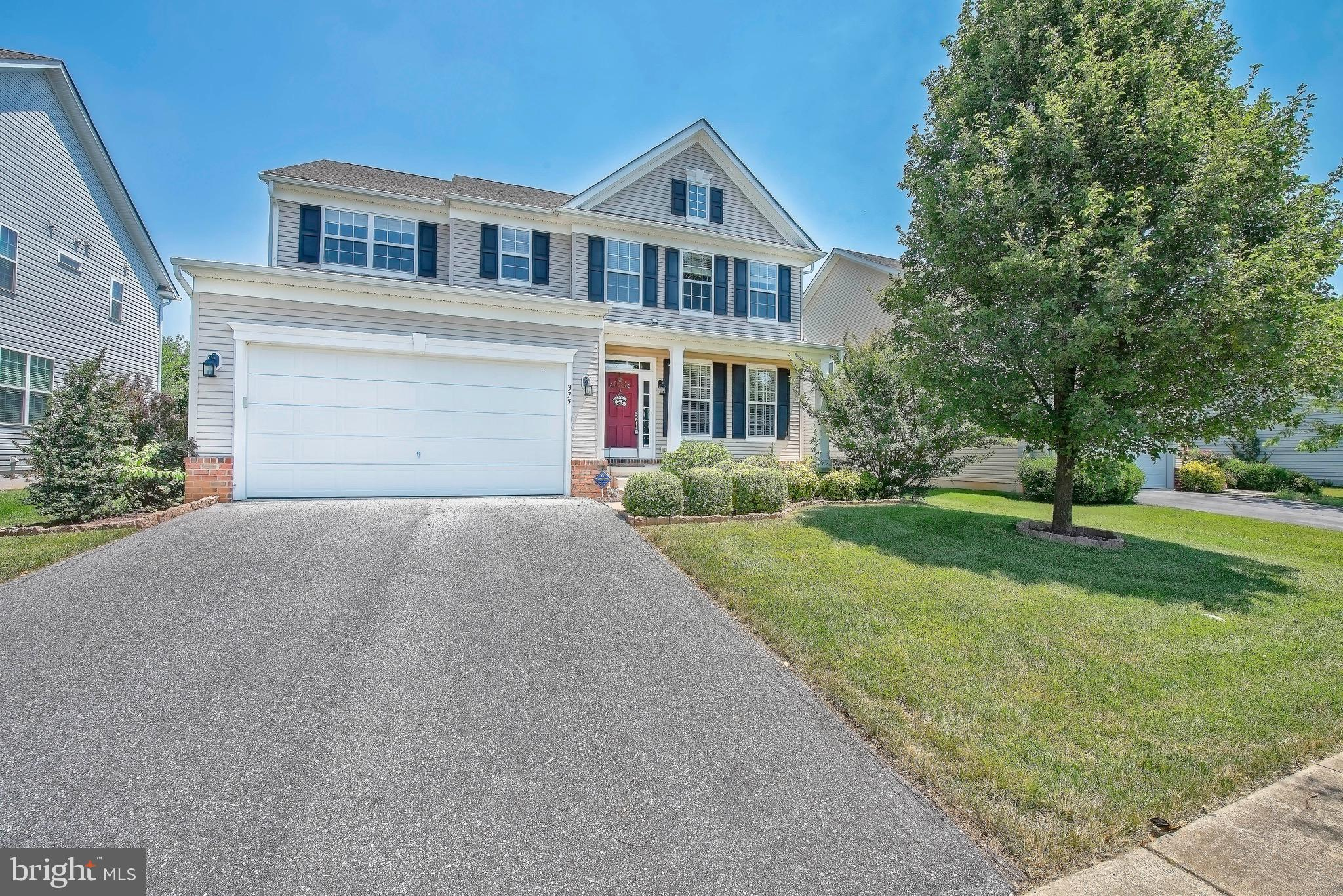 """Welcome to the beautiful, sought out community of Willow Grove Mill! If you would like a fully functional, single family home, in the Appoquinimink School district and have convenience to route 1 and 13, then look no further! 375 Northhampton Drive is perfect in so many ways! From the minute you walk through the front door, you will see beautiful hardwood floors throughout the main level! Every room in the house is functional, from the dining room to the large sunlit four seasons room! The kitchen has 42"""" cabinets, upgraded granite countertops, pantry, newer stainless steel fridge and dishwasher. The living room has a gas fireplace and crown molding. You have two sliding glass doors leading out to the trex deck, an awning for those sunny days, and backing up to a lovely tree lined view! Upstairs you will find a very generous sized master bedroom, with two closets, a large master bath with a double vanity, stand up shower and large soaking tub! There are three additional bedrooms, all with ceiling fans and a second floor laundry!! But wait... there's more! This one has a full finished basement!! There is storage galore with a large closet under the stairs, a large area for storage, a perfect sized room that could be used for multiple uses, and a beautiful half bath. Willow Grove Mill is a friendly and beautiful place to live! Schedule your tour now, you won't be sorry!"""