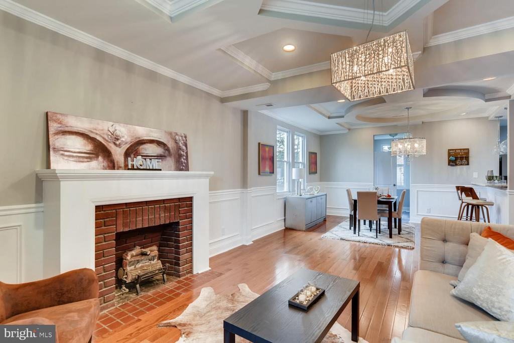 """Welcome to 3908. Located in the Calloway section of the city, This team of investors designed this """"Gem"""" with your buyer in mind. They especially crafted the """"Coffered Ceilings"""" and """"Open Floor Plan"""". They also, designed a contemporary kitchen with the """"chef of the house on mind. There is a sun room off of the kitchen, as well as a power room, and a huge back yard for upcoming summer days. The lower level can be used as a family room, and the upper level has 3 full bedrooms and a master suite with a full bath. This is Home. Welcome."""