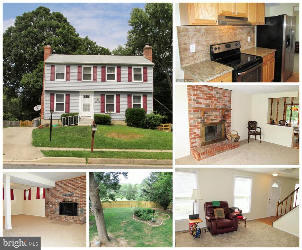 AVAILABLE AUGUST 1st! Gorgeous 4 Bedroom 2.5 Bath Colonial in Nottingham Woods!Recently Updated Kitchen w/Granite Counters & Stainless Steel Appliances!Breakfast Room leads to Spacious Balcony overlooking large fenced-in backyard.Large Family Room & Living Room w/ Fireplace on Main Level.Finished Basement w/ Fireplace, Walkout, & Den!Spacious Owner's Suite w/ lots of closet space & Private Bath!