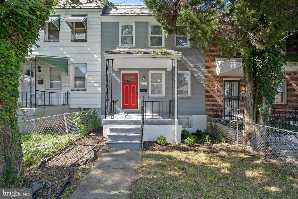 Beautiful renovation includes hardwood floors throughout main and upper levels. Combined kitchen/dining room with breakfast bar/island. Fully finished lower level complete with full bathroom including a tile surround stand up shower. Fantastic opportunity to own a home for less than you pay in rent.