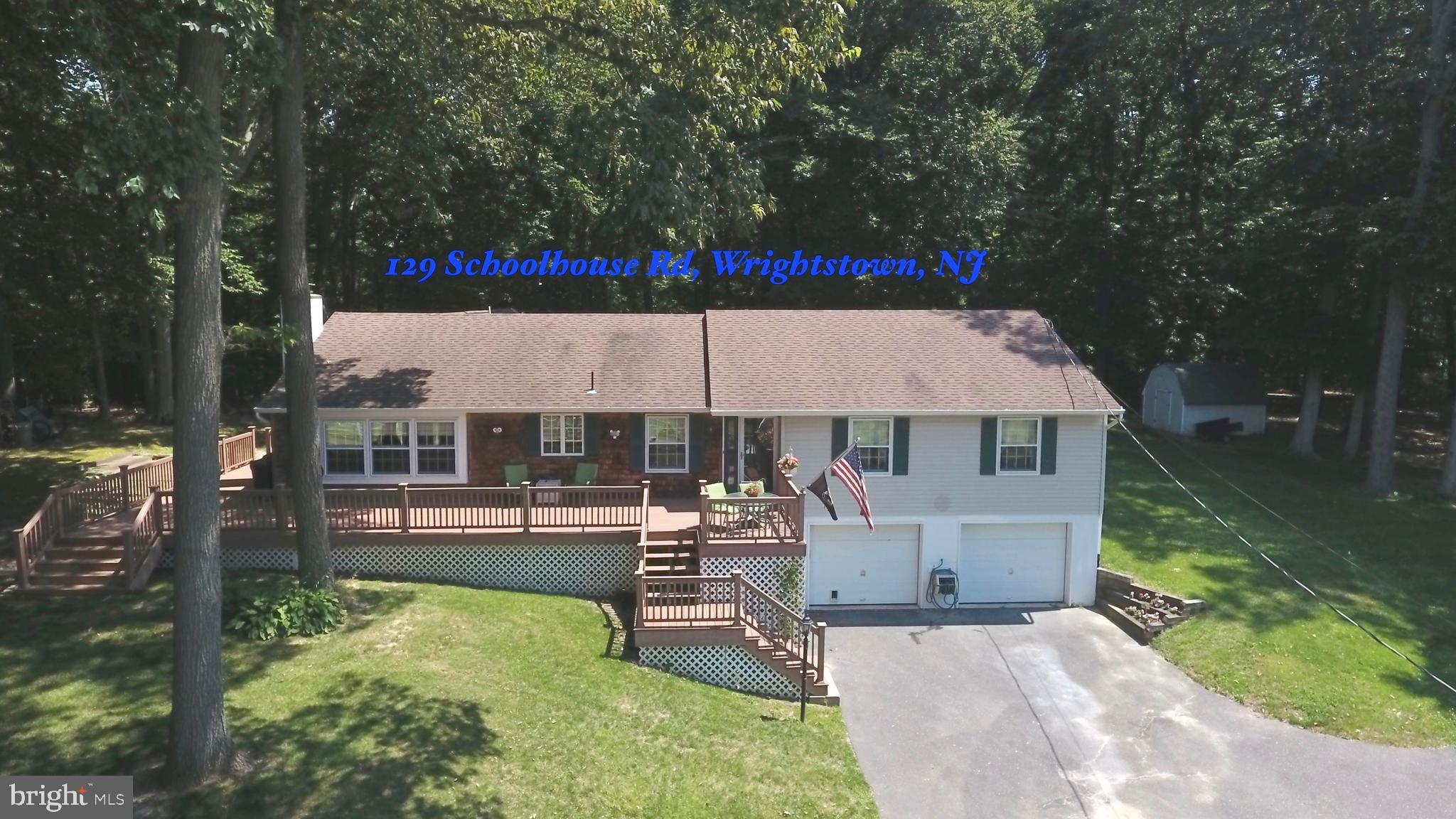 129 SCHOOLHOUSE ROAD, WRIGHTSTOWN, NJ 08562