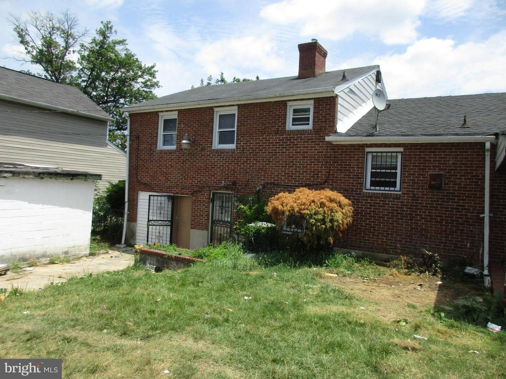 New Price! Large 4 bedroom 2 full baths on big corner lot in Northwood.  Close to Chinquapin Park and Morgan State. Good bones but could use some updating. Sold As Is.  The seller will make no repairs.