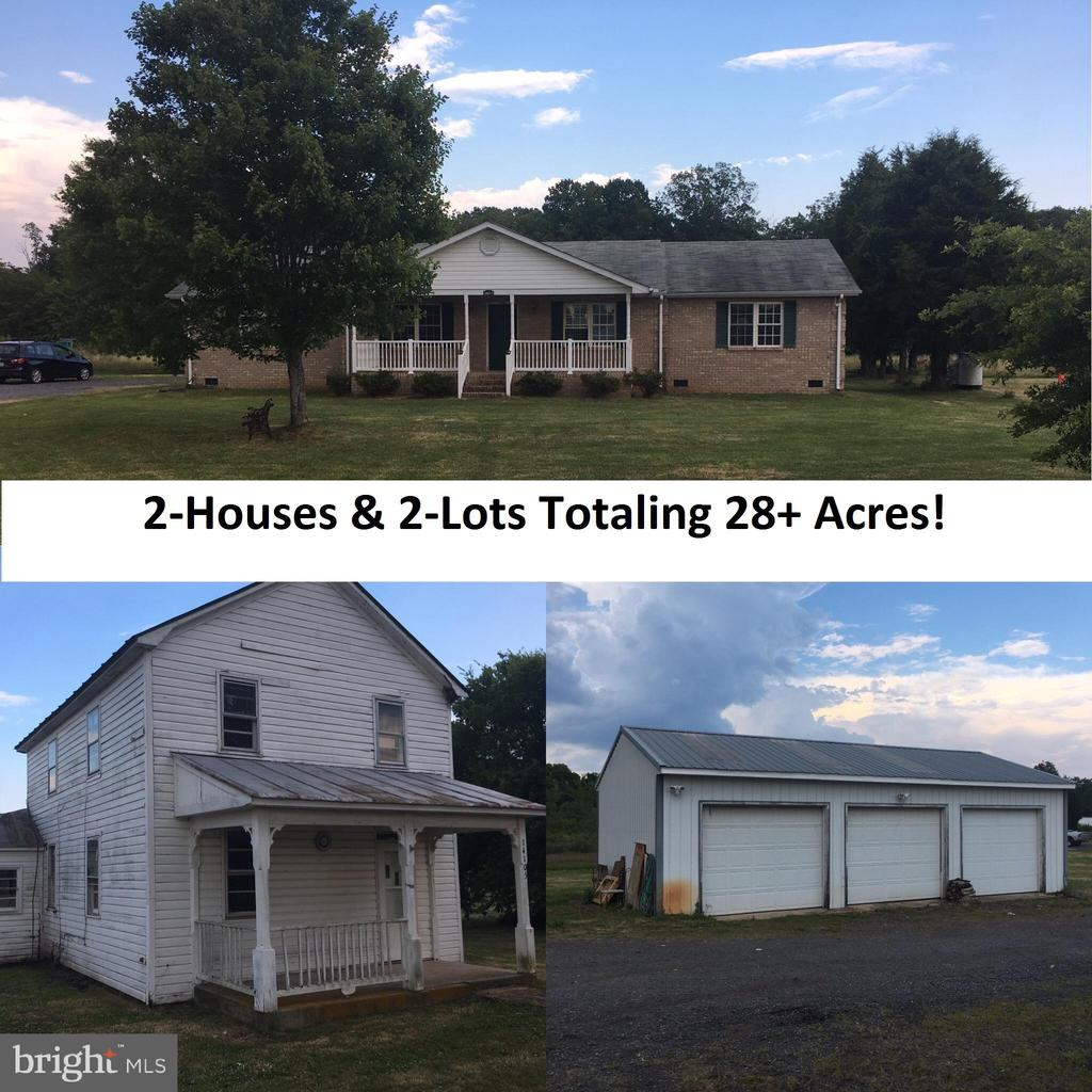 Rare opportunity to get (2) Lots and houses in Nokesville for this price. Listing includes 14085 Fleetwood Drive, Parcel 2 with 10 Acres improved by house built in 2002 being described in this listing and 14105 Fleetwood Drive, Parcel 3-18.6510 Acres, totaling 28.6510 acres. Home located at 14105 Fleetwood Drive is older home and has 3 bedrooms, 1 bath, two levels, with oil heat and no central AC, and is a fixer upper.  Properties have a shared well and driveway.  This sale is in settlement of estate inherited property.  Located in Prince William County, great for commuters to NOVA looking for a country home. Price below tax assessment making this a great buy.  Come see it today!