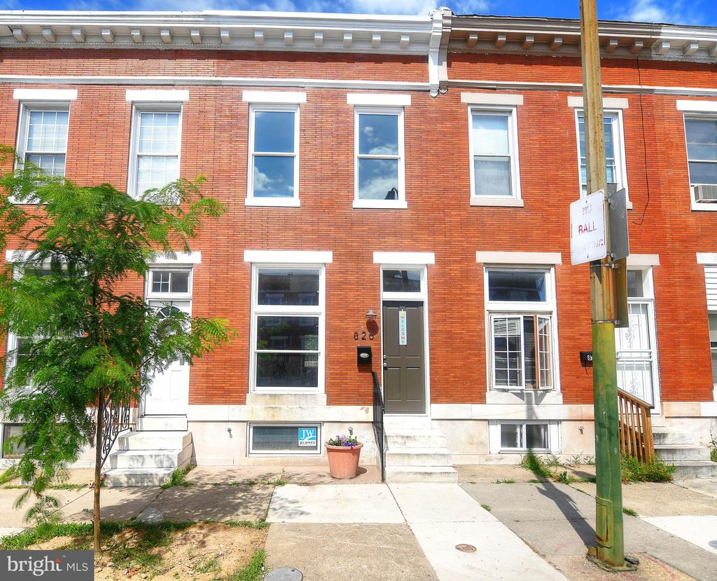 Amazing opportunity to own in East Baltimore! This 3BR, 1.5BA home has been beautifully renovated and is waiting for you to call it home. The basement offers a finished space, perfect for an office or family room.  Appliances will be installed at time of contract.  House qualifies for CHAP 10 year tax credit, 5K LNYW from Hopkins, and other city grants.  Close to Johns Hopkins, Eager Park, and all the other exciting new attractions East Baltimore has to offer!