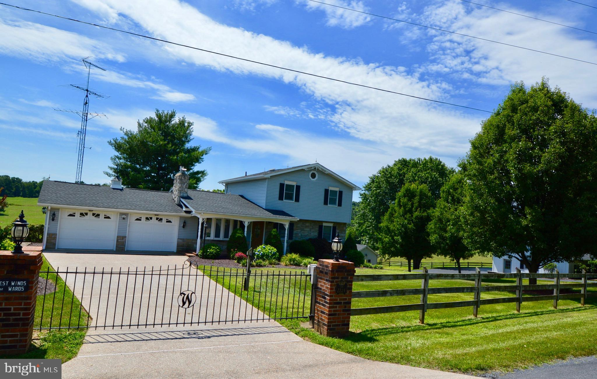 2224 GRAVELTOWN ROAD, QUICKSBURG, VA 22847