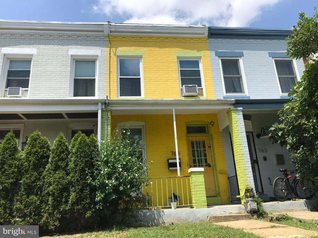 This is your chance to own a charming home on the booming Sherman Ave Corridor! A short stroll to the upcoming Whole Foods, Atlantic Plumbing and all of U Street, it's an amazing opportunity! Bring your imagination and make an appointment before this opportunity is gone!