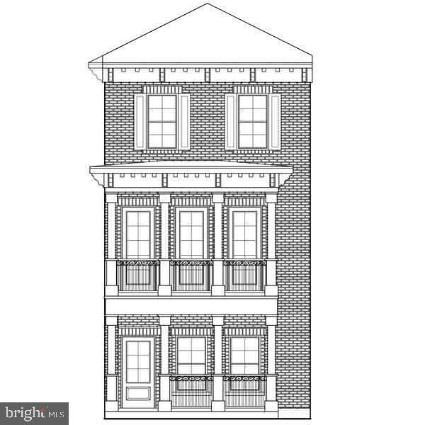 excellent location - will be restored - pix is just an artist rendering - owner held financing/participation possible - backing up to Historic District