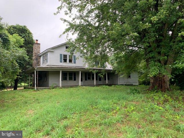 "Diamond in the rough located on 4.51 acres! Needs TLC but can be returned to its original charm. Wrap-around porch to enjoy the mountain views. Excellent commuter location, close to MARC train. Being sold ""AS IS"" Bring Offers!"
