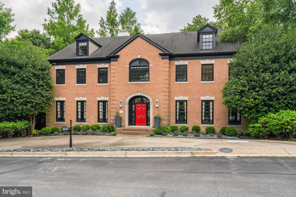 Welcome to this stately residence located in one of the most desirable neighborhoods in upper northwest DC, Spring Valley. Embassy-sized rooms, award dinning design, and an unbelievable, private lot make this 10,000+ square foot home so special. The first level offers an impressive entryway, ideal for welcoming guests when entertaining. There is an expansive double living room, a large room for formal dining, a home office, and a great room with cathedral ceilings off the eat-in kitchen with access to the deck and yard. The main level also has multiple fireplaces, an elevator, full bath, and powder room. The second level features a lovely master suite with two walk-in closets and an award-winning master bath including a soaking tub and separate shower. There are two additional en-suite bedrooms on this level including one which could be split into two bedrooms given its size. There is a large laundry room on this level as well. The third level includes two more en-suite bedrooms offering ideal space for family and guests. The lower level features incredible ceiling height, a large open space for a recreational room, two large bedrooms, two full baths, a second kitchen for an au-pair, or a nanny suite. There is a large storage/laundry room on this level as well. The property is sited on a nearly 24,000 square foot lot and includes a pool, multiple outdoor entraining spaces, and a large two-car garage. Property being sold as-is.