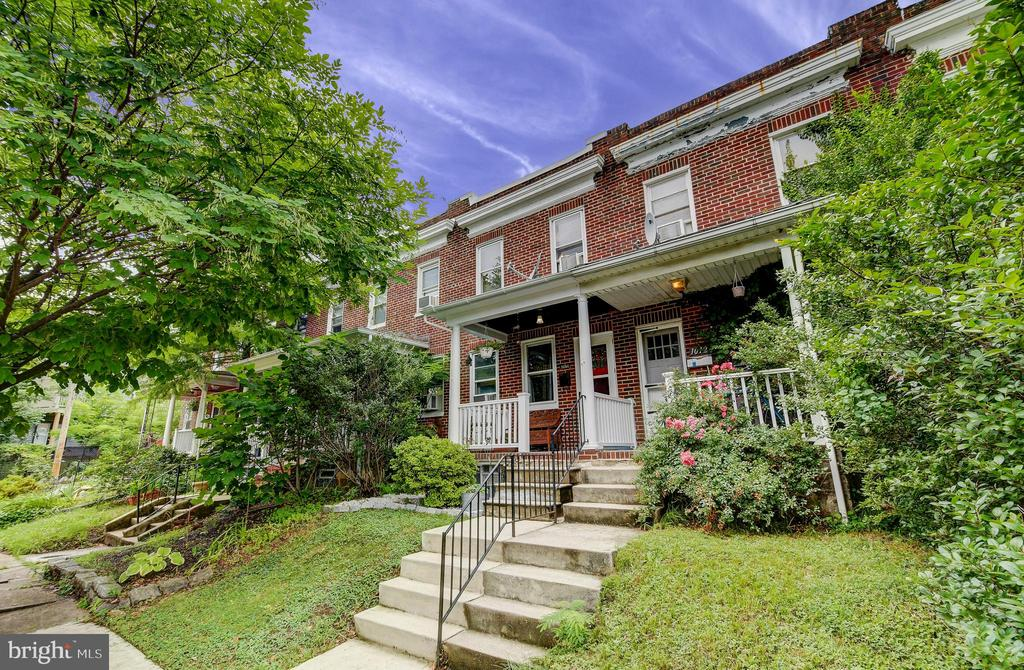 OPEN HOUSE | SUN 8/25 | 11:00AM -1:00PM     HUGE PRICE REDUCTION -- Quiet northern Hampden location on a dead end street with an easy walk to all the fun action on the Avenue, the new Rotunda restaurants, shops and movie theatre as well as the Giant! Hardwood floors throughout this well-priced three bedroom home that features an updated kitchen with granite counters, stainless appliances and open layout- yes, that bothersome wall has been removed! Basement is semi-finished with great storage and halfbath. A sweet front porch and tidy rear yard enhance your outdoor enjoyment. Great starter home eligible for $15,000 grant - ask how you might qualify!
