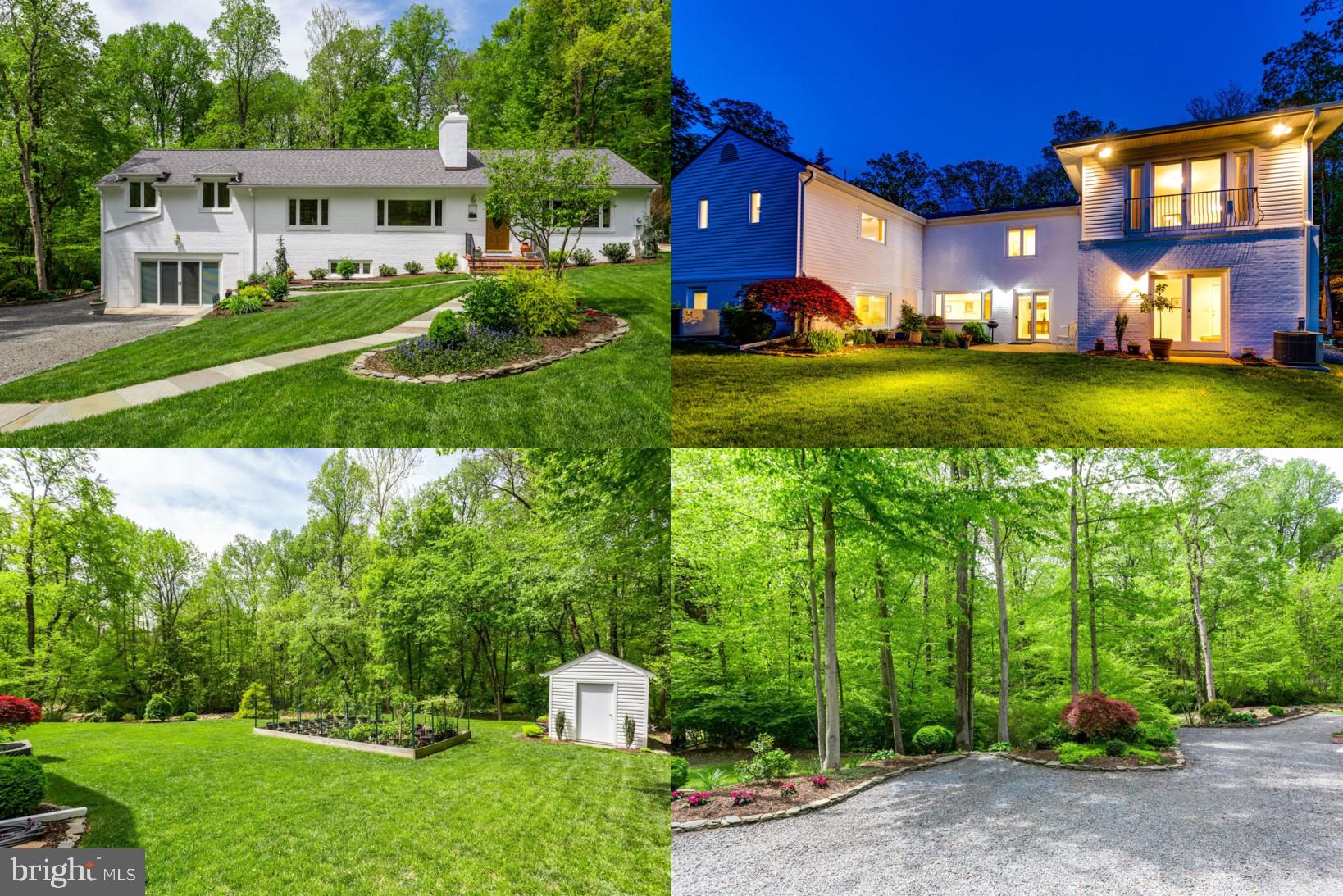 """**OPEN SATURDAY, 7/13, 2PM-4PM** One-of-a-kind rambler on impeccably landscaped lot backing to peaceful stream and 20+ acres of parkland and Green Spring Gardens!  This home displays pride in ownership at the highest level - expanded and rebuilt in 2004 with new framing, electrical, plumbing, mechanical systems, and much more!  5 bedrooms, 3.5 baths and nearly 4,800 sq ft of finished space. Bright and open floorplan with chef's kitchen, including oversized island, top of the line appliances (48"""" Wolf range + vent hood, 48"""" GE Monogram refrigerator), and 4 skylights to bring in lots of natural light.  New hardwoods throughout the main/upper levels and new carpet on the walkout lower level.  All completely new bathrooms as part of the 2004 rebuild/expansion (plumbing, tile, fixtures, location, etc.).  Luxurious master suite with large walk-in closet and French doors that overlook the serine backyard and stream. The attached master bath includes beautiful tile work, separate jetted tub, oversized shower, and large vanity.  The light filled lower level includes a huge rec room with gas fireplace, 2 spacious bedrooms, full bath, built-in cabinetry w/granite bar, tons of storage, and walkout to concrete patio.  New roof in 2013 with architectural shingles, R-30 attic insulation, newly lined wood-burning fireplace, and whole house vacuum system.  New custom shed with matching roof in 2017.  Original planned 2 car garage was converted to """"finished storage space"""". Meticulously maintained landscaping throughout entire property ~ pots do not convey.  Escape from the daily hustle and relax in this paradise of a setting just minutes from 395, Crystal City, and Washington DC!"""