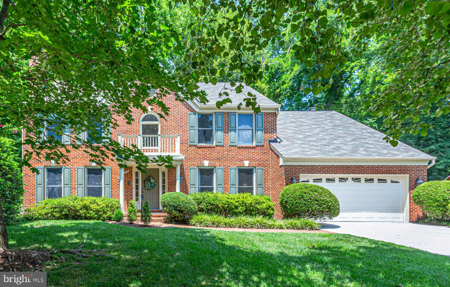 This beautiful four-bedroom brick colonial on a quiet cul-de-sac in the sought-after Collingwood Springs community will provide a serene setting for you, your family and friends. This home boasts a two-story entry with grand staircase that makes a wonderful first impression. Immediately off the entry is the den that makes for a perfect first-floor home office.~ Enjoy memorable gatherings in the generously sized living and dining rooms.~ The gleaming hardwood floors throughout are highlighted by the exquisite formal fireplace in the living room, bay window in the dining room and graced with the craftsmanship of the lovely crown molding and decorative wood elements.~ The main level's, spacious sun-drenched family room with cathedral ceiling, skylights and soaring second fireplace flows into the open gourmet eat-in kitchen. The kitchen with its center island, built-in desk area and stainless steel appliances are a chefs delight.~ French doors off the kitchen and family room flows out to the lovely deck.~ The ~park-like~ setting will afford you outdoor entertaining or a relaxing environment for casual conversation or space to read that great book. The stunning master suite also has a wonderful cathedral ceiling with adjoining ~spa-like~ bathroom that provides you with your own private sanctuary. The lower level is the perfect place to enjoy movie night or a friendly game of ping pong in the large family room.~ In addition, there is the third full bathroom and so much storage space. Just minutes to the picturesque George Washington Parkway between Mount Vernon and Old Town Alexandria. George Washington Memorial Parkway and nearby Fort Hunt Park are maintained by the National Park Service and preserve habitat for local wildlife. The parkway and its associated miles of trails along the Potomac River provide a scenic place to play and rest in the busy Washington, DC metropolitan area. Minutes from Old Town Alexandria, Reagan National Airport, Metro Stations, the future Nati