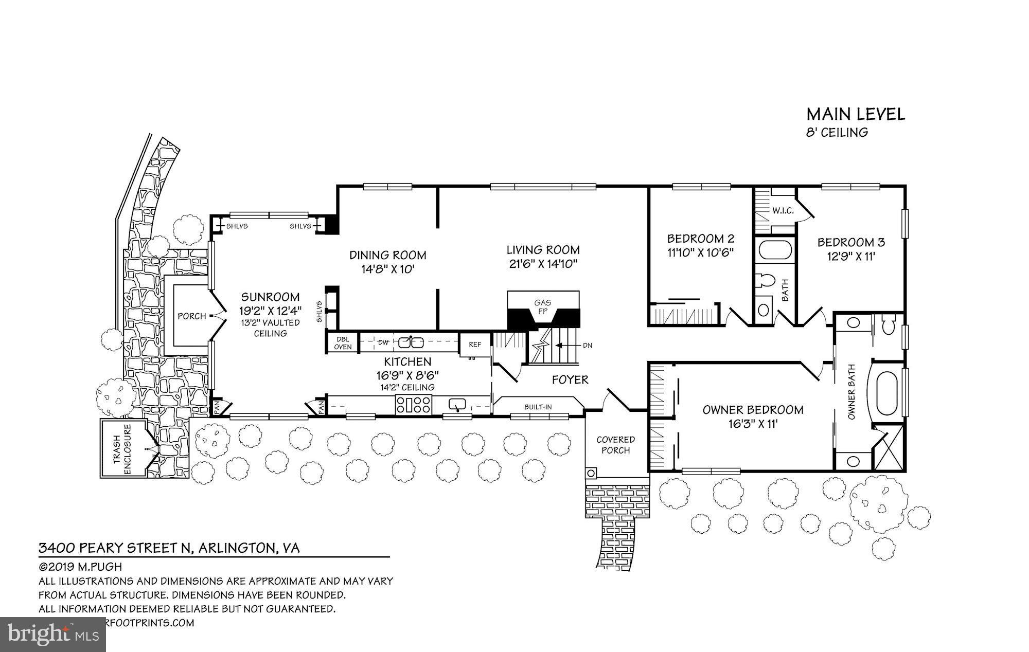 3400 N Peary Street, Arlington, VA 22207   McEnearney ociates Rambler House Plans Daylight Bat on daylight basement house plans, best rambler home plans, lakefront house plans, large lodge style house plans, daylight ranch house plans,