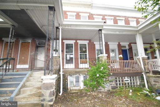 Property for sale at 1715 Ashburton St, Baltimore,  Maryland 21216