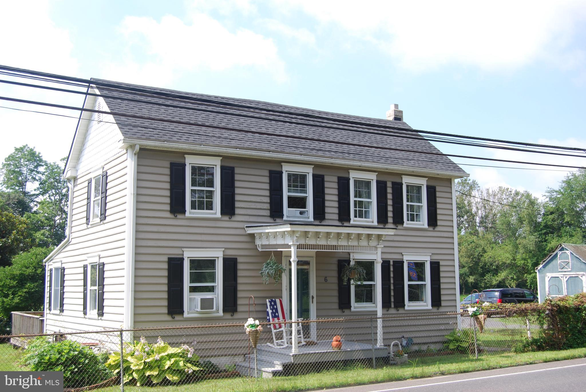 6 CHESTERFIELD JACOBSTOWN RD., WRIGHTSTOWN, NJ 08562