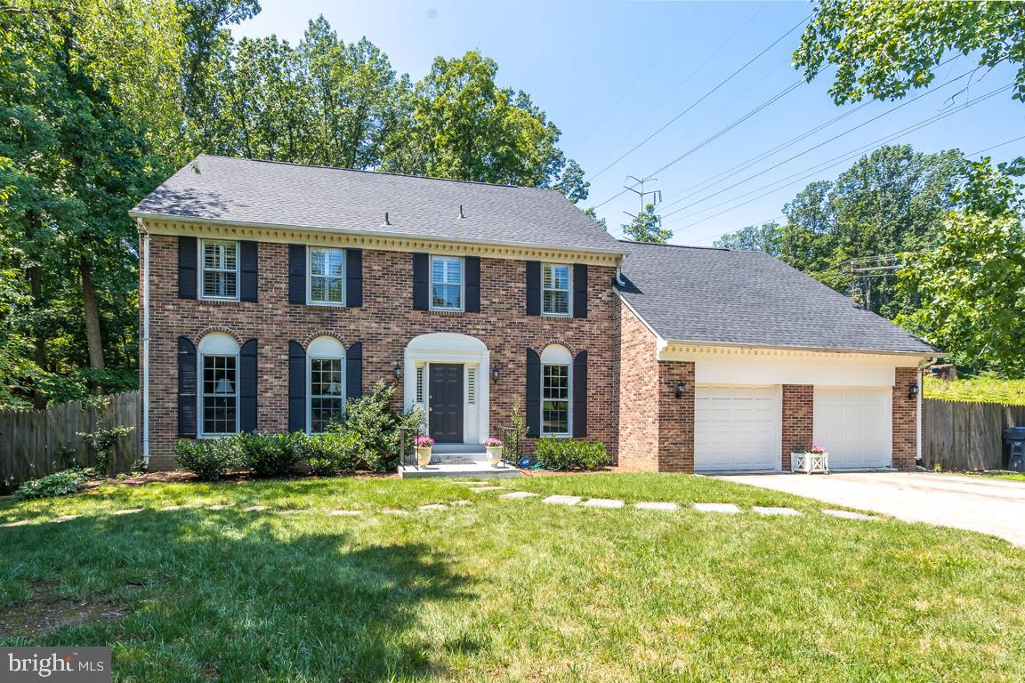 Yes, it's hot out, but this home is hotter. If you want a winner in Wilton Woods, come check out this airy classic Colonial with a refined design and a floor plan #formiles. Set just off the street, what could be better than a private lot in the neighborhood of neighborhoods across the street from a playground, softball fields and public tennis court (not for now obviously, but soon, when it cools off... it will cool off...soon...hopefully....PLEASE)? Until then, have a party inside because you have the space and lots of it on the main level and everywhere else for that matter. There won't be any fighting over bathrooms and bedrooms because there are several of each (I lost count there are so many).  Save the drive to work if you can and flex your work muscles in your main level office. You can conserve some more energy by dropping off your dirty socks in the legit laundry room on the bedroom level. Speaking of saving energy, you can do that too...literally because you've found yourself a house with a fancy newer roof and HVAC system. If you love a good basement and you might because, you know, it is super-duper hot out (I know you need a reminder LOL) this would be a good spot for you to have a playroom/yoga studio/arcade/bat cave/throw-a-bouncy-house-in-there-and-shut-the-door-room. If you venture outside, in the fall perhaps, you will get to enjoy the terraced patios and private yard. Beat the heat at the movie-theatre a hop skip and jump away at the Hoffman Center or Kingstowne or just skip the sauna-like temps and see this house instead.