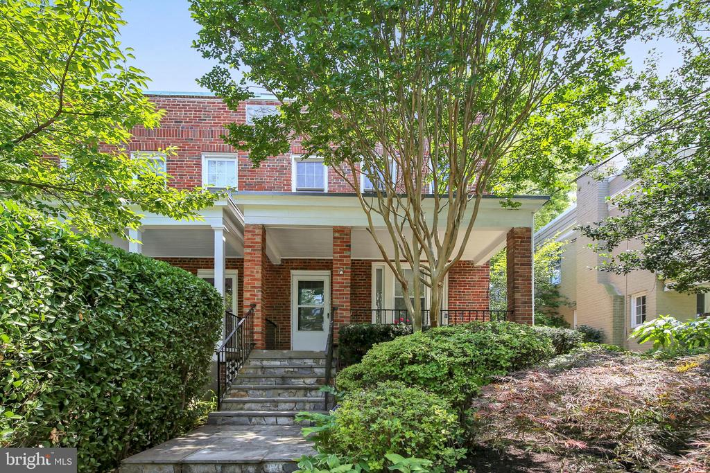 **Please note offer deadline of Fri, July 19, at 5pm.** GORGEOUS and newly renovated 4 bedroom, 2.5 bathroom semi-detached townhouse, only blocks to Tenleytown metro, Whole Foods, Wilson Aquatic Center, Tenley/Friendship Library, Turtle Park, tons of shops and restaurants, and more! Freshly painted throughout with updated lighting and windows and two-zone central air-conditioning and radiator heat. Main level has spacious open floor plan with hardwood floors throughout, beautiful gourmet kitchen, half bath with extra insulation in outside wall, recessed lighting, and plenty of closet space. Upper level boasts 4 sizable bedrooms, all with hardwood floors, and renovated full bathroom. Recently renovated back bedroom has level hardwood flooring, insulation in three outside walls, oversized closet, and updated electric. Fully finished and recently renovated lower level has full bathroom and separate entrance. New sump pumps installed in large front storage room and in oversized back washer/dryer room with leveled flooring. New carpet also installed in lower level. Beautiful front and back gardens with professional landscaping! Lush, private, and quite backyard with wonderful deck and stone patio. Spacious two-car garage and plenty of street parking.