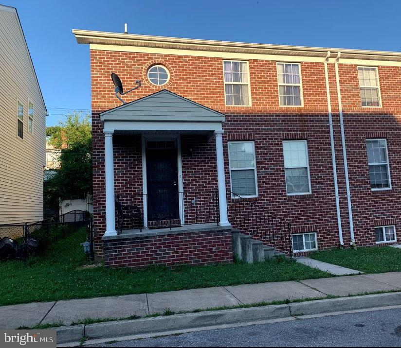 This is a wonderful semi-detached townhome in with brick front and spacious rooms. Large eat-in kitchen and separate dining room. Back yard with entrance through the kitchen 3 bedrooms 2 1/2 baths. Application fee is $35.00 looking for a 12 month lease. House will be freshly painted.