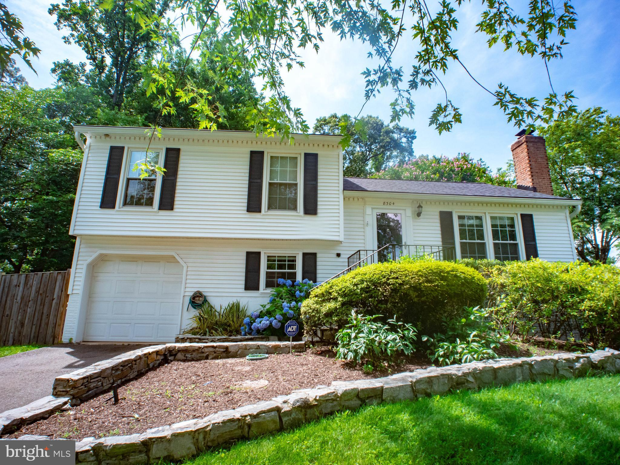 Don't miss your chance to own this beautiful home in Springfield. Just minutes away from the metro, this property is situated in the beautiful neighborhood of Terra Grande. Not one but two culs-de-sac hug this split level home. This incredibly versatile layout flows smoothly from the front door to any level of the beautiful backyard. With this great backyard and it's deck, patio, fire pit and ample space for activities the possibilities are endless. The kitchen is updated and beautifully maintained with stainless steel appliances, granite countertops and hardwood floors throughout. The finished basement provides it's own bedroom, walk in closet, family room and flex room. This home is a must see, do not wait. Schedule your private tour today!