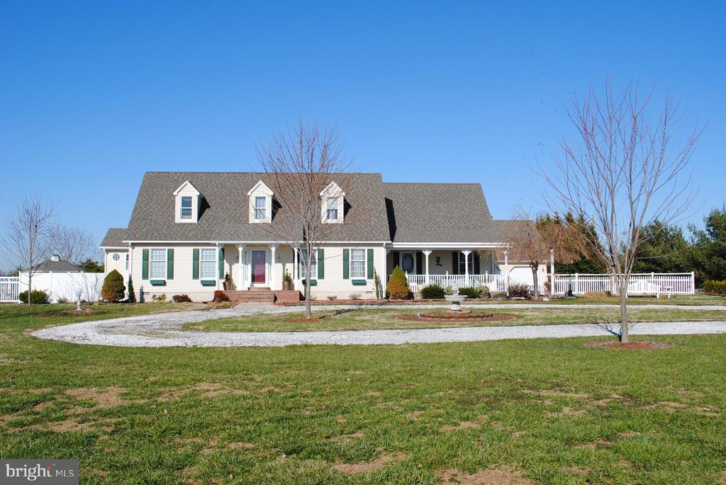 Cape Cod with in-ground pool, two car garage with workshop and 24' x 30' shop with 9' doors. Lots of amenities - skylight, cathedral ceilings, granite kitchen counters, Jacuzzi tub and pool table. Additional 48.59+/- acre parcel also available.