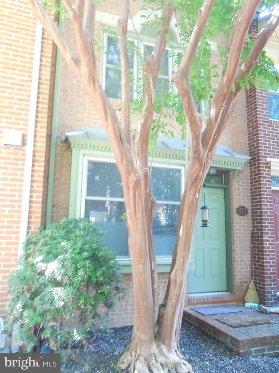 Really lovely 4 level, 3 bedroom, 2 bath townhome in popular COLECROFT. Fresh paint throughout. Beautiful hardwood floors. Recessed lights. Woodburning fireplace.  Awesome kitchen with tons of counter and cabinet space. Fenced rear deck. Assigned parking for 1 plus ample street parking. ONE BLOCK TO METRO! HUGE basement perfect for storage, exercise equipment, (ping pong table??). 1 assigned parking plus TONS OF STREET (with city permit).Pets CBC (NMT 2, combined weight less than 80 pounds, $100/month NR pet fee). $111,600 MIN INCOME to qualify (combined). ONE MONTH FREE RENT!