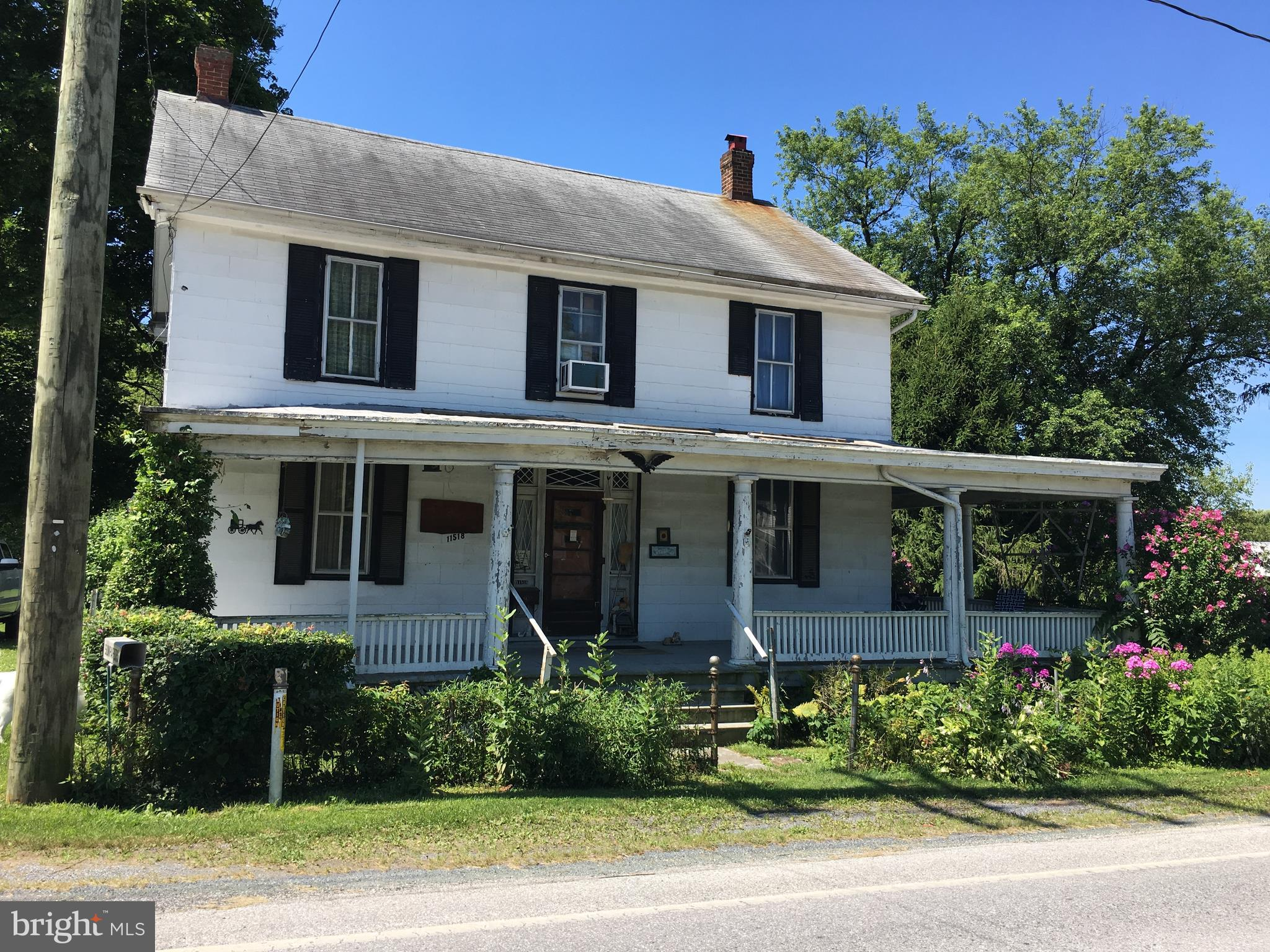 11518 OLD ROUTE SIXTEEN, ROUZERVILLE, PA 17250