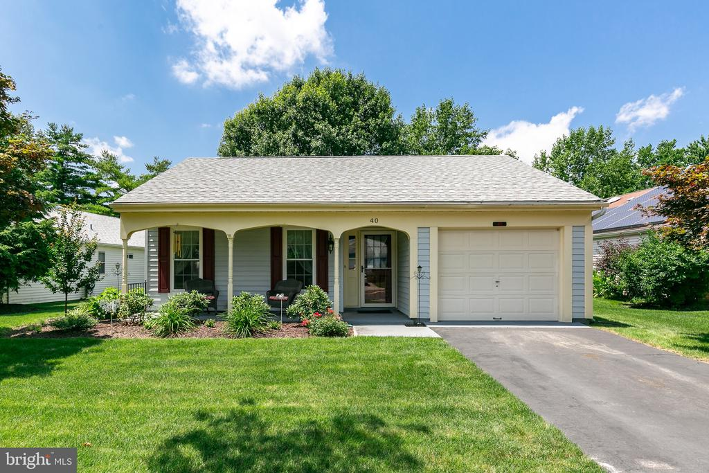This lovely rancher in Leisuretowne has been updated and waiting for the new owner.  Newer roof, updated kitchen with light cabinets, granite counter tops, new sunroom, newer kitchen insulated door, and the bathrooms have been updated with new vanities, and new carpet in bedrooms.  All the windows have been replaced .