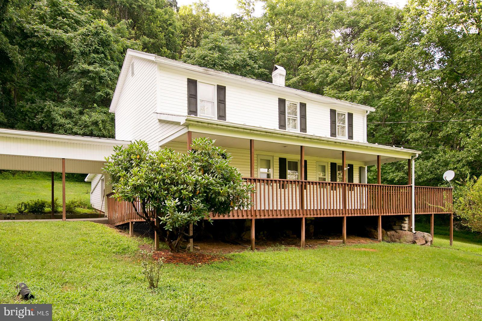 9770 CAPON RIVER ROAD, YELLOW SPRING, WV 26865