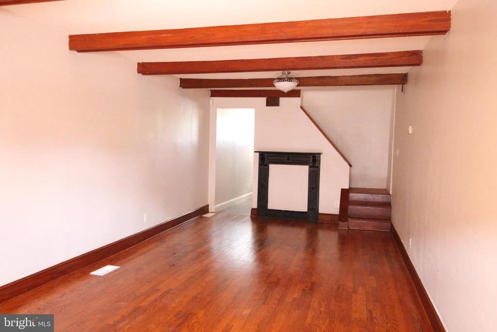 An affordable opportunity for homeownership in Mount Clare! Fresh remodel 2 bedrooms 1 bathroom  complimeted by hardwood floors. Washer and dryer in Unit.