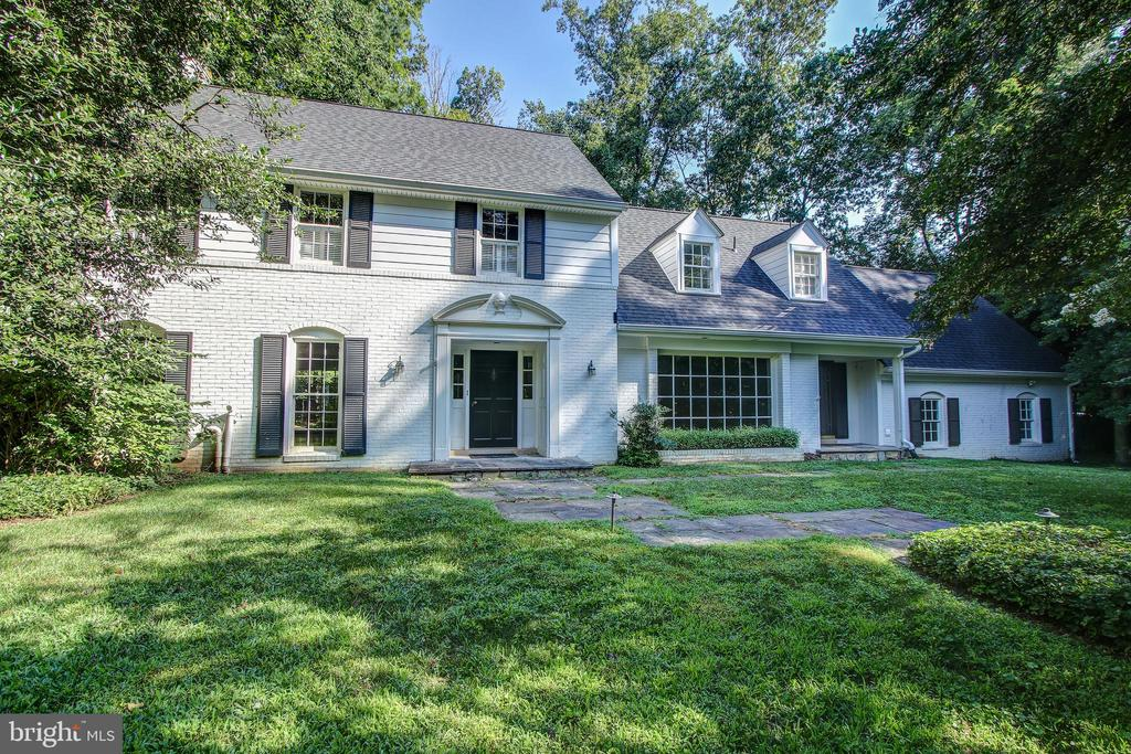 Gracious colonial on lovely lot in this sought after neighborhood of Bethesda.  The floors are refinished and the pool is open -- price to account for some additional work that you might want to do (replace windows, upgrade landscape, etc.