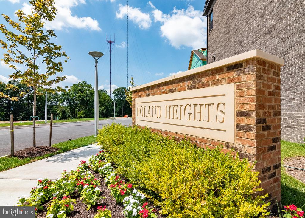 The Residence at Roland Heights is Baltimore's newest and most exciting new home community. Walking distance to the avenue at Hampden and Union Collective, and only Minutes to Woodbury, Roland Park, John Hopkins, Loyola, The Baltimore Zoo and the inner harbor. The Community is situated directly off I-83 and is a commuter's dream. Tie together the best of both worlds with new home construction, a home warranty for peace of mind, Baltimore City living, and the versatility of being close to all your favorite shops, restaurants and bars. Explore Historic Baltimore while also living in a modern, smart home integrated luxury townhome. Homes in this community feature Full Brick Front Elevations, Smart Home Tech Package, Large Quartz Island, rear deck, Luxury Plank flooring on lower and Main level, Oak Staircase with iron spindles, Gas Stainless Steel Appliances. Homes offer optional 4th level loft with rooftop deck so you can make the most out of your space... and serene wooded views.
