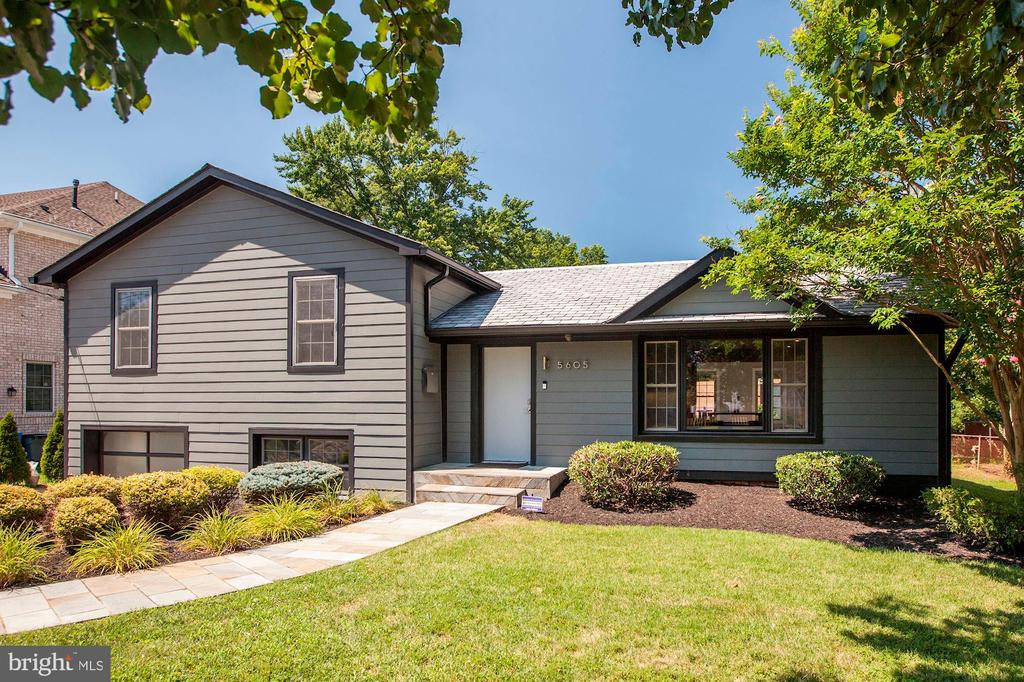 Price Improved! Welcome to 5605 Grosvenor Lane, one of the most impressive homes in Wildwood. Recently renovated down to the studs and expanded for even more finished living space. This builder owned Smart Home is powered by Control4 automation and adorned with the finest finishes, materials, and workmanship. Open main level floor plan is perfect for entertaining between the large formal living and dining rooms. Chef~s kitchen is outfitted with professional grade appliances, soap stone counters, and plenty of cabinet space. Upper level boasts a total of 4 bedrooms, 2 full baths including the incredible Owner~s Suite. Owner~s suite features dual walk-in closets and inviting bath with steam shower, separate soaking tub, dual vanities, and clad with the finest stone and fixtures. Lower level offers a space perfect for a home office or family room, a full bath, laundry/mudroom leading to garage, and an incredible home theatre. No expense was spared in the home theater which is outfitted with top of the line audio/video equipment, high ambient light rejecting screen, and plush theatre furniture. Fresh paint, refinished floors, Inspire synthetic slate roof, Hardie plank siding, dual zone HVAC, heavy-up electric, R30 insulation, the list goes on! An absolute turn key home and must see to appreciate. Perfect location just minutes to downtown Bethesda, 270, 495, and more.