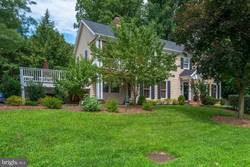 Spacious Colonial in fabulous location!! Great opportunity to live in this wonderful community! The sought after school district of Woodacres/Pyle/Whitman.  Close proximity to downtown Bethesda, Crescent trail Park, Gen Echo, C/O Canal, Kenwood golf & country club; minutes to Friendship Heights Metro & upscale shops and restaurants, 2 minutes to  DC line.
