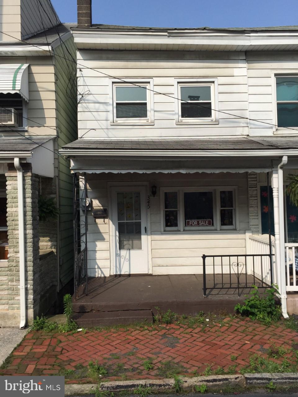 345 NEW CASTLE STREET, MINERSVILLE, PA 17954