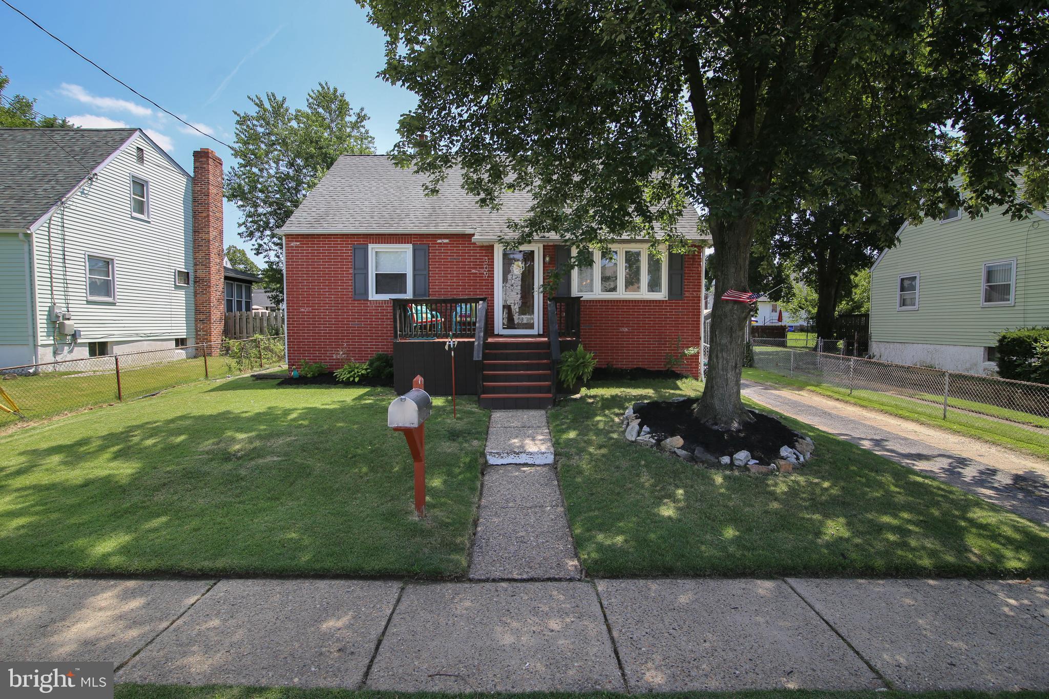 309 BERGEN AVENUE, BELLMAWR, NJ 08031