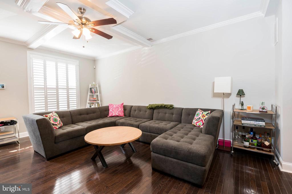 Welcome to Patterson Park! 4 bedroom, 3 bathroom home with a rooftop deck and steps to the park. Crown molding in spacious Main Level, designer kitchen, finished basement and 2 bedroom suites on Upper Level.