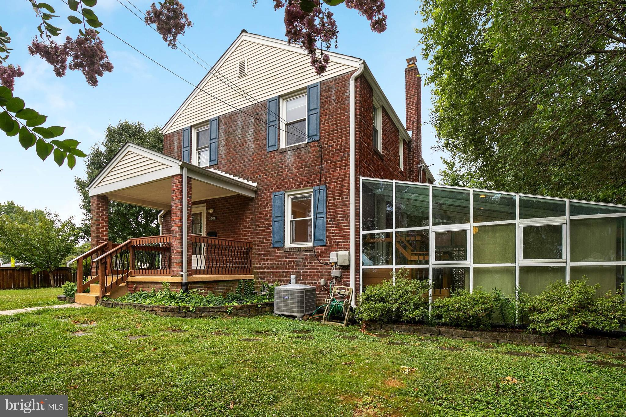 Super charming duplex on a fully fenced corner lot. Off street parking.  The house has an amazing sunroom off of the side that adds to the usable living space.  There is a cozy patio just outside as well.  All the charm off Jefferson Manor can be yours.  Don't miss out this gem is going to go quickly.